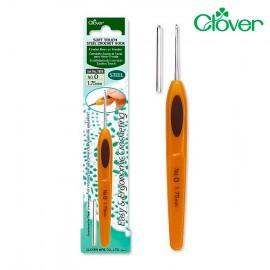 Stahlhäkelnadeln Clover Soft Touch