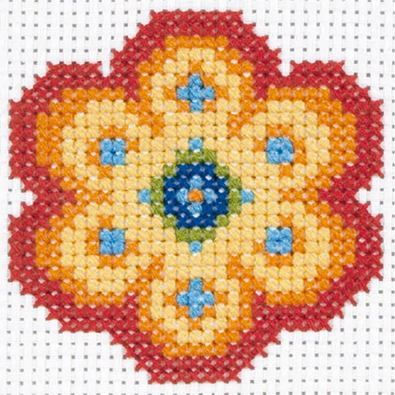 Anchor 1st Kit de Tapiceria - Flower