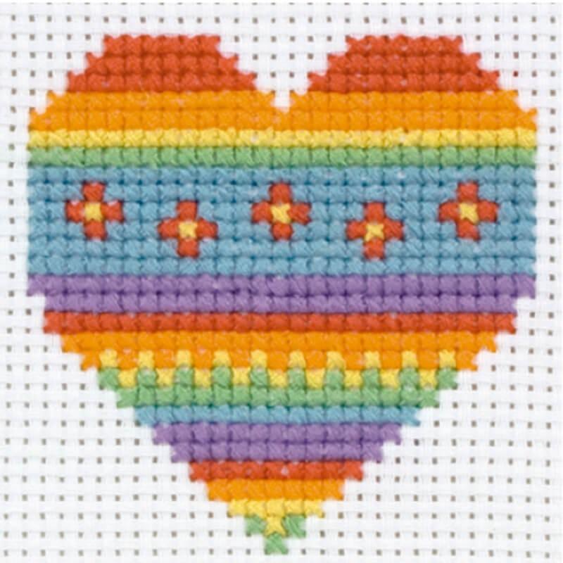 Anchor 1st Kit de Tapiceria - Heart