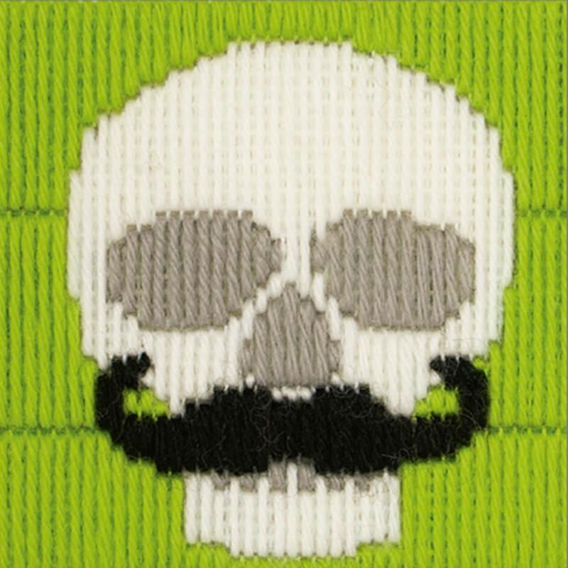 Anchor 1st Kit de Tapiceria - Skull With Moustache