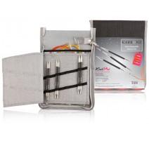 Austauschbare Rundstricknadeln Set KnitPro Karbonz Deluxe