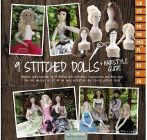 9 Stitched Dolls + Hairstyle Guide