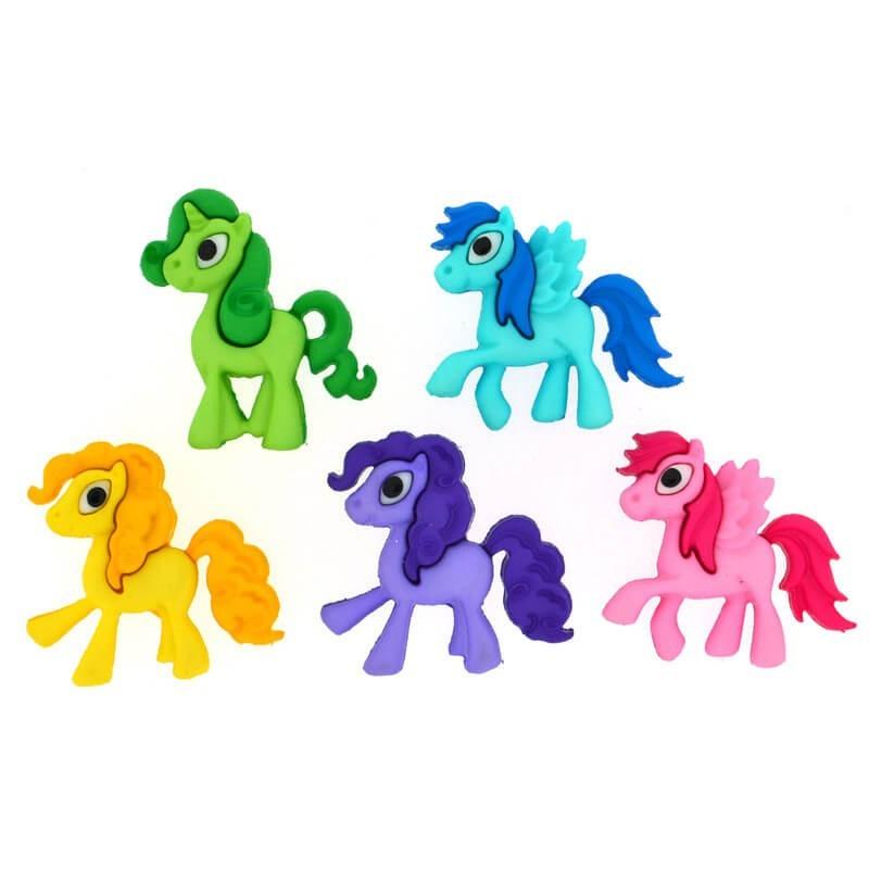 Botones Pony Parade - Dress It Up