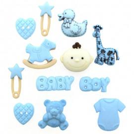 Botones Baby Boy - Dress It Up