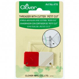 Enhebrador con cortador de PETIT CUT