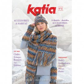 Zeitschrift Katia Accessoires Nr. 12 - 2018-2019