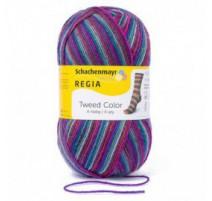 Regia Tweed Color - 4-fädig