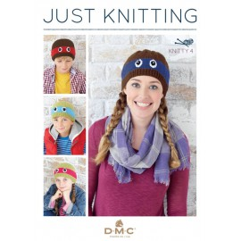 Revista DMC Just Knitting - Knitty 4 - 2017