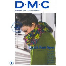 Revista DMC Creaciones de Tricot y Crochet Quick Knit Spot 2 modelos - 2018