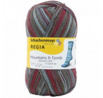 Regia Pairfect Design Line By Arne & Carlos - Mountains & Fjords Color 4-fädig