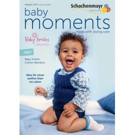 Schachenmayr Magazin 036 Baby Moments - Baby Smiles Cotton Bamboo