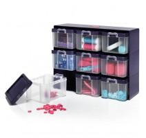 Caja organizadora con 9 separadores - Prym