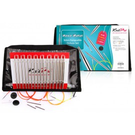 Austauschbare Rundstricknadeln Nova Deluxe Set KnitPro