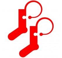 Maschenmarkierer mit Socken-Form - Addi