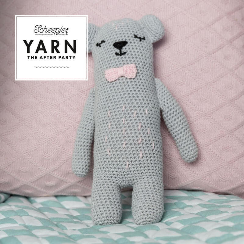 Scheepjes Nº 37 Yarn The Afert Party - Woodland Friends Bear