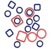 Metallische Maschenmarkierer - Linea - KnitPro