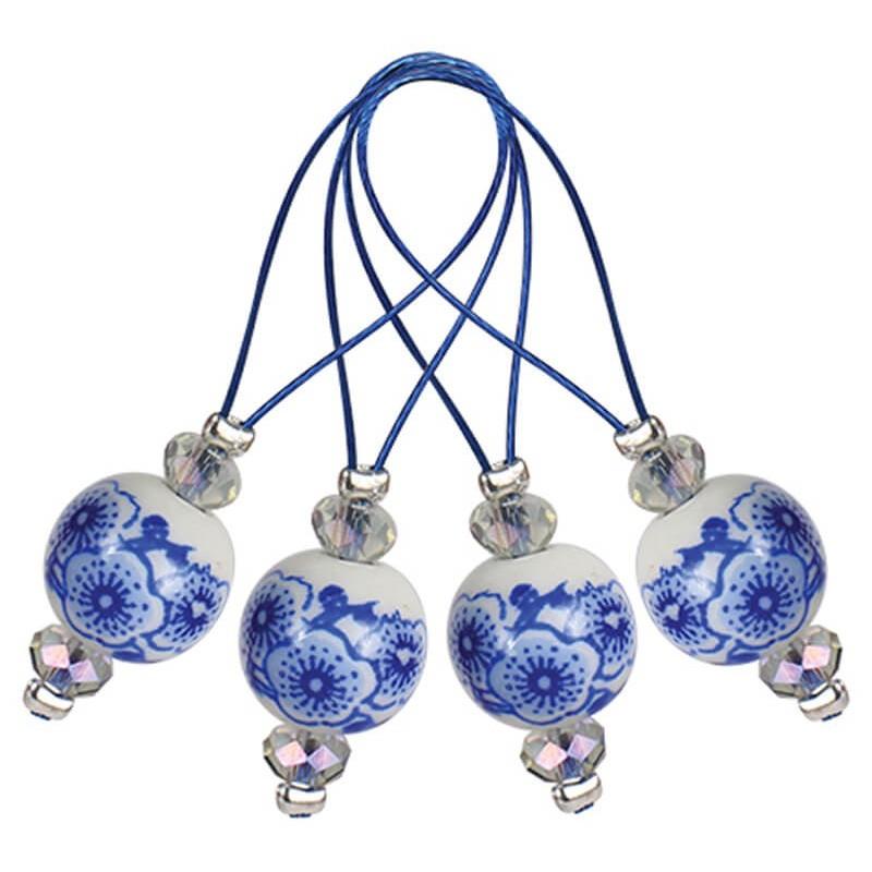 Marcadores de Puntos - Blooming Blue KnitPro