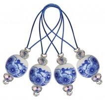 Maschenmarkierer - Blooming Blue KnitPro