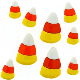 Botones Candy corn - Dress It Up