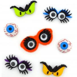Botones Monster Eyes - Dress It Up