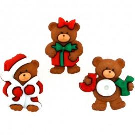 Knöpfe A Beary Merry Christmas - Dress It Up