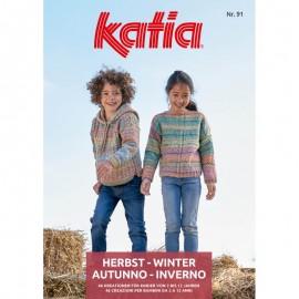 Zeitschrift Katia Kinder Nr. 91 - 2019 - 2020