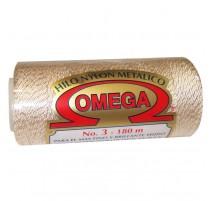 Metallisiertes Omega Nr. 3 Garn