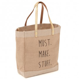 Bolsa de labores - Craft Tote Slogan