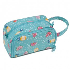 Bolsa con Porta Ganchillos y Dispensador de Lana - Fruity