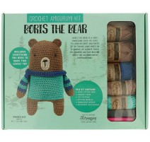 Amigurumi Doll-Set Teddybär Boris
