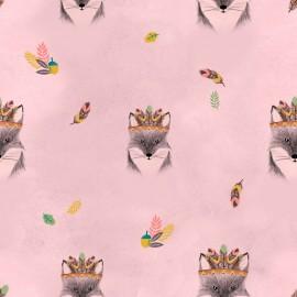 Tela impermeable Katia - Main Fox Pink