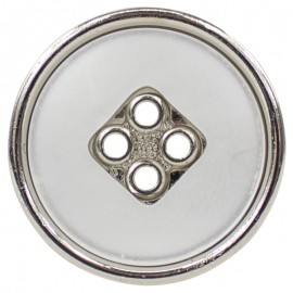 Boton Poliester Metalizado