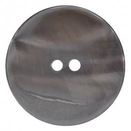 Runder Knopf aus Perlmutt