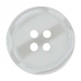 Boton Poliester Brillante 4 agujeros