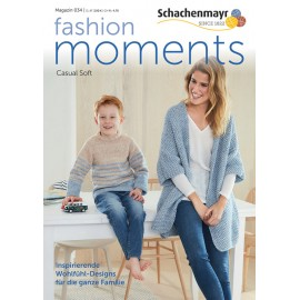Schachenmayr Magazin 034 Fashion Moments - Casual Soft
