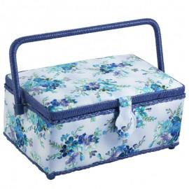 Costurero - Flores Azules