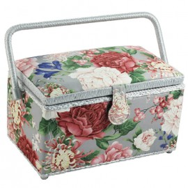 Costurero - Flores Rosas