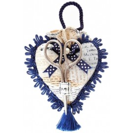 Alfiletero Corazon con Tijeras - Vintage Collection - RTO