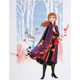Kit de Punto de Cruz - Disney - Frozen 2 - Anna - Vervaco