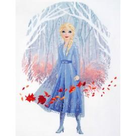 Kit de Punto de Cruz - Disney - Frozen 2 - Elsa - Vervaco
