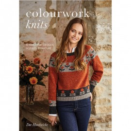 Revista Rowan Colourwork Knits by Dee Hardwicke