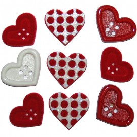 Botones Gift of Love - Dress It Up