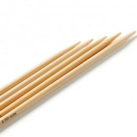 Agujas de doble punta Bambu 20 cm - Prym