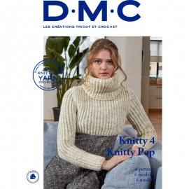 Revista DMC Creaciones de Triot y Crochet Knitty - Knitty pop - 6 modelos - 2018