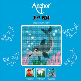 Anchor 1st Kit de Tapiceria - Dolphin Waves