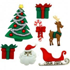 Botones Christmas Eve - Dress It Up