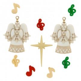 Botones A Choir Of Angels - Dress It Up