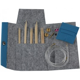 Set de Agujas Circulares Intercambiables Maple con Estuche de Fieltro - Pony