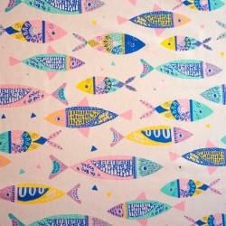 Canvas Colour Fishes - Katia