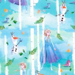 Baumwollstoff - Elsa und...